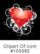 Royalty-Free (RF) Heart Clipart Illustration #103382