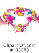 Royalty-Free (RF) Heart Clipart Illustration #103383