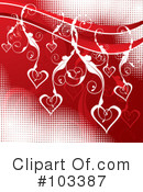 Royalty-Free (RF) Heart Clipart Illustration #103387