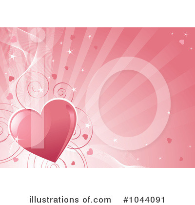 Valentine Background Clipart #1044091 by Pushkin