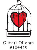Royalty-Free (RF) heart Clipart Illustration #104410