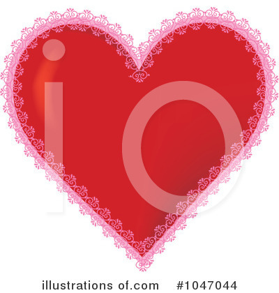 Royalty-Free (RF) Heart Clipart Illustration by Maria Bell - Stock Sample #1047044