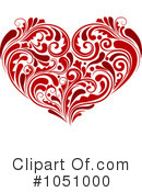 Royalty-Free (RF) Heart Clipart Illustration #1051000
