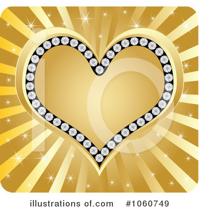 Royalty-Free (RF) Heart Clipart Illustration by Andrei Marincas - Stock Sample #1060749