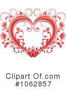 Heart Clipart #1062857 by Vector Tradition SM