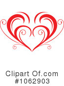 Heart Clipart #1062903 by Vector Tradition SM