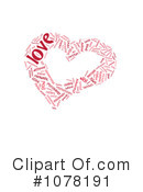 Royalty-Free (RF) Heart Clipart Illustration #1078191