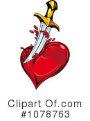 Royalty-Free (RF) Heart Clipart Illustration #1078763