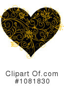 Heart Clipart #1081830 by Vector Tradition SM