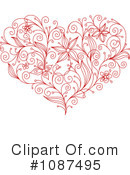 Heart Clipart #1087495 by Vector Tradition SM