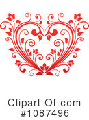 Heart Clipart #1087496 by Vector Tradition SM