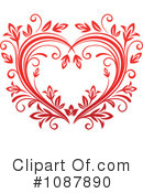 Heart Clipart #1087890 by Vector Tradition SM