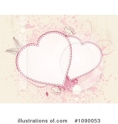 Hearts Clipart #1090053 by elaineitalia