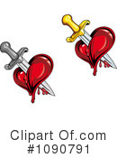 Royalty-Free (RF) Heart Clipart Illustration #1090791