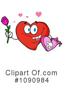 Royalty-Free (RF) Heart Clipart Illustration #1090984