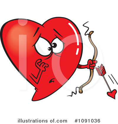 Heart Clipart #1091036 by toonaday