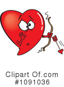 Royalty-Free (RF) heart Clipart Illustration #1091036