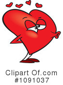Royalty-Free (RF) Heart Clipart Illustration #1091037