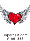 Royalty-Free (RF) heart Clipart Illustration #1091833