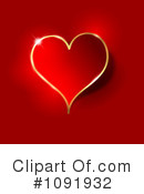 Royalty-Free (RF) heart Clipart Illustration #1091932