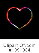 Royalty-Free (RF) Heart Clipart Illustration #1091934