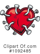 Heart Clipart #1092485 by Vector Tradition SM