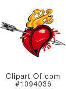 Royalty-Free (RF) heart Clipart Illustration #1094036