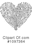 Royalty-Free (RF) Heart Clipart Illustration #1097364