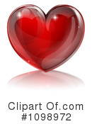 Royalty-Free (RF) heart Clipart Illustration #1098972