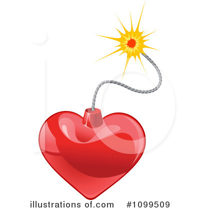 Heart Clipart #1099509 by Vector Tradition SM
