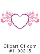 Royalty-Free (RF) Heart Clipart Illustration #1100315