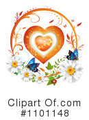 Royalty-Free (RF) Heart Clipart Illustration #1101148