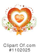 Heart Clipart #1102025 by merlinul