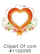 Royalty-Free (RF) Heart Clipart Illustration #1102095
