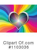 Royalty-Free (RF) Heart Clipart Illustration #1103036