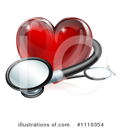 Stethoscope Clipart #1110354 by AtStockIllustration