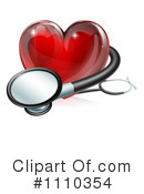 Royalty-Free (RF) Heart Clipart Illustration #1110354