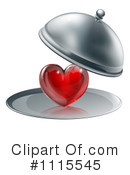 Royalty-Free (RF) heart Clipart Illustration #1115545