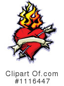 Royalty-Free (RF) Heart Clipart Illustration #1116447