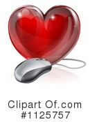 Royalty-Free (RF) heart Clipart Illustration #1125757