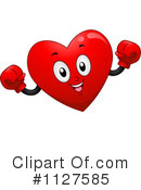 Royalty-Free (RF) Heart Clipart Illustration #1127585