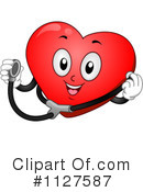 Royalty-Free (RF) Heart Clipart Illustration #1127587
