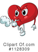 Royalty-Free (RF) heart Clipart Illustration #1128309