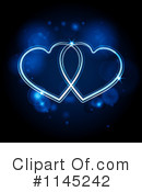 Royalty-Free (RF) Heart Clipart Illustration #1145242