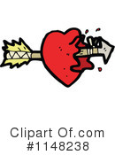 Royalty-Free (RF) Heart Clipart Illustration #1148238
