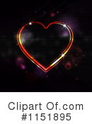 Royalty-Free (RF) Heart Clipart Illustration #1151895