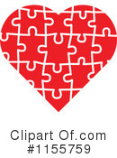 Royalty-Free (RF) Heart Clipart Illustration #1155759