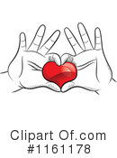 Royalty-Free (RF) Heart Clipart Illustration #1161178