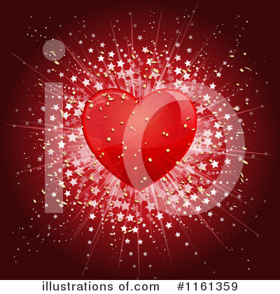 Hearts Clipart #1161359 by KJ Pargeter