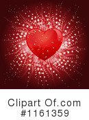 Royalty-Free (RF) heart Clipart Illustration #1161359